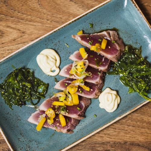 Tataki de atún (2)