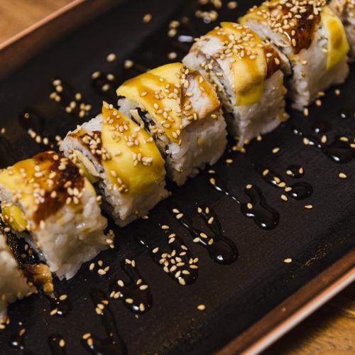 Unagi to foie uramaki (4)