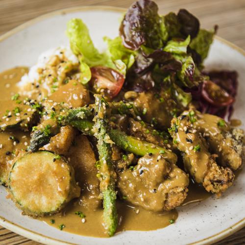 Yasai katsu curry